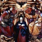 Marienaltaraltar Aufnahme Marien in den Himmel