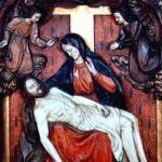 Marienaltar Abnahme Jesu vom Kreuz