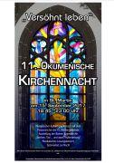 Plakat oekumenische Kirchennacht 2017