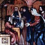 Marienaltar Der 12-jährige Jesus im Tempel